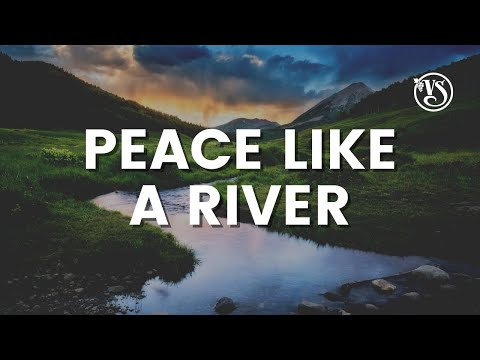 Vinesong - Peace like a River LIVE (Lyric Video)