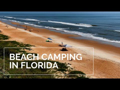 BEACH CAMPING In FLORIDA | Ormond Beach | Florida Beaches | Coral Sands RV Resort