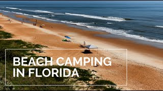 BEACH CAMPING in FLOŔIDA | Ormond Beach | Florida Beaches | Coral Sands RV Resort