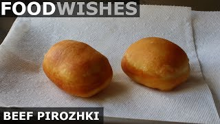 Beef Pirozhki - Food Wishes - Russian Meat Donuts