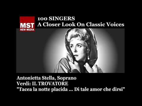 100 Singers - ANTONIETTA STELLA