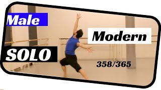 Male dance solo- contemporary male ballet solo- ballet 358