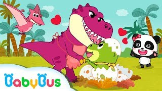 Tyrannosaurus-Rex looking For His MAMA  | Dinosaur Songs | BabyBus Songs for Children