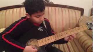 "Happy Birthday Song On Guitar By Adamya | ""SANGEET BHARTI"" (Music Academy)"