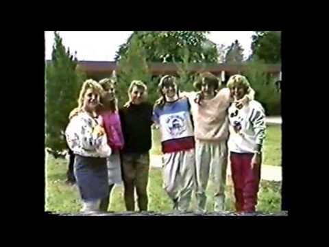 1988 Claremont High School Senior Video - Part 1