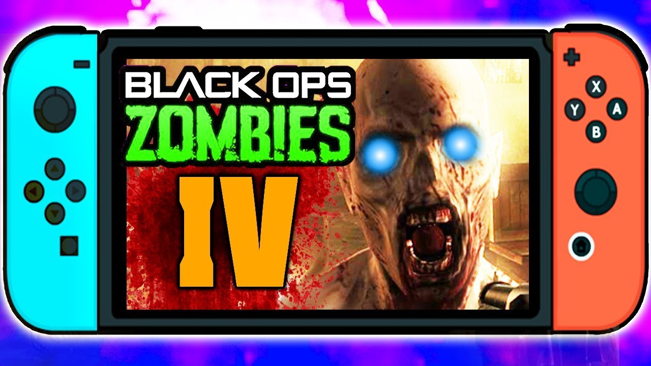 Call Of Duty Black Ops 4 Zombies Nintendo Switch