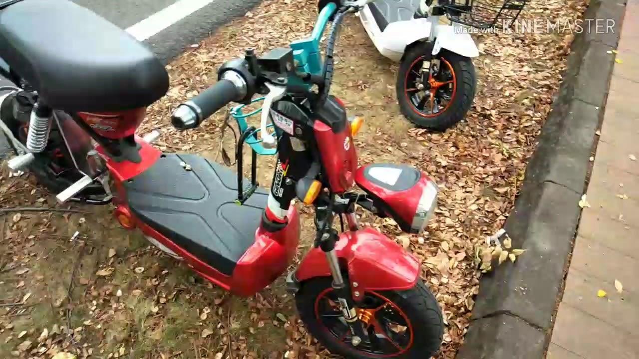 Modifikasi Sepeda Listrik Ginori Inspirasi Youtube
