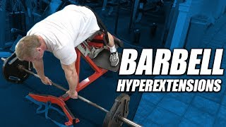 Exercise Index - Barbell Hyperextensions