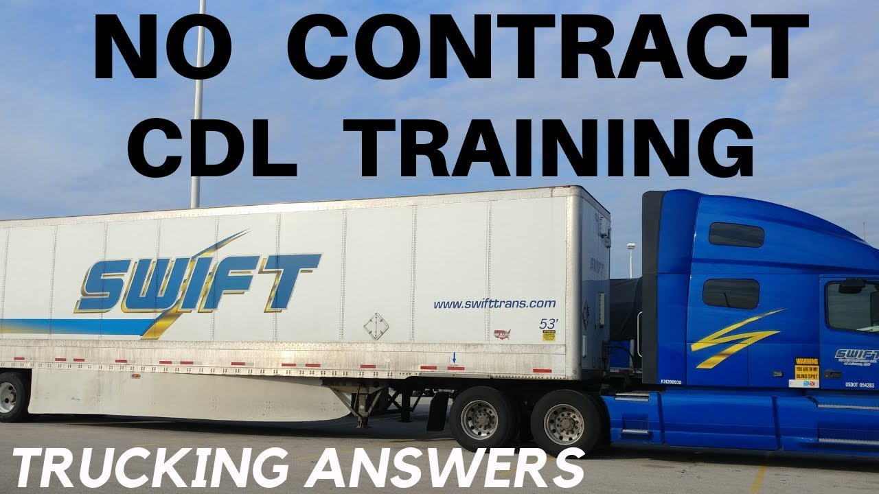 Swift Trucking Reviews >> Swift Transportation Training To Get Your Cdl 2019 Youtube