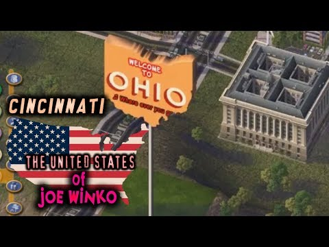 Cincinnati, Ohio | United States of Joe Winko 1x30 | SimCity 4 Series | Joe Winko