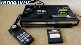 BROKEN 1980s CBS C๐lecoVision Home Video Game Console - Trying to FIX