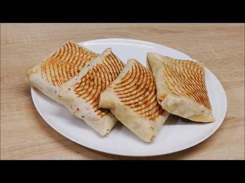 tacos-aux-Œufs-et-a-la-viande-hachÉe-facile-(cuisine-rapide)