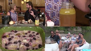 Healing Bone Broth, Pear/Blackberry Cobbler, Camp on the Kentucky (Episode #430)