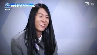 Produce 101 S2 EP2 Lee Woojin cut (full)