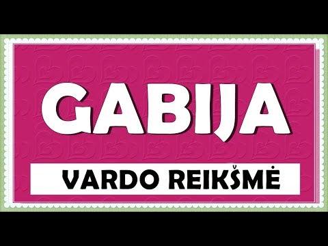 VARDAS GABIJA - KILMĖ, REIKŠMĖ IR HOROSKOPAS
