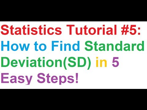 statistics-tutorial-#5:-how-to-find-standard-deviation(sd)-in-5-easy-steps!