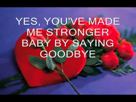 YOU'VE MADE ME STRONGER by REGINE VELASQUEZ WITH LYRICS
