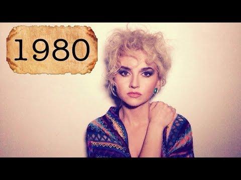 1980's makeup tutorial