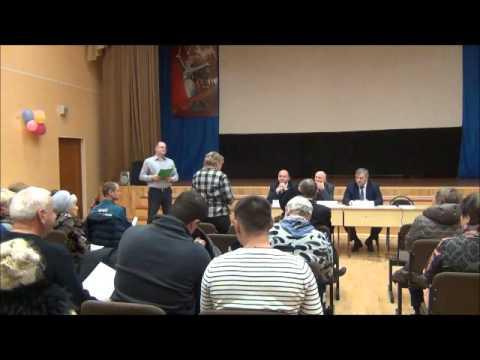 Встреча исполняющего обязанности главы управы района Марьино И.В. Бобрышевой с населением 21.06.2017