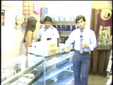 WAVY Archive: 1981 Virginia Beach Business - Police Bust