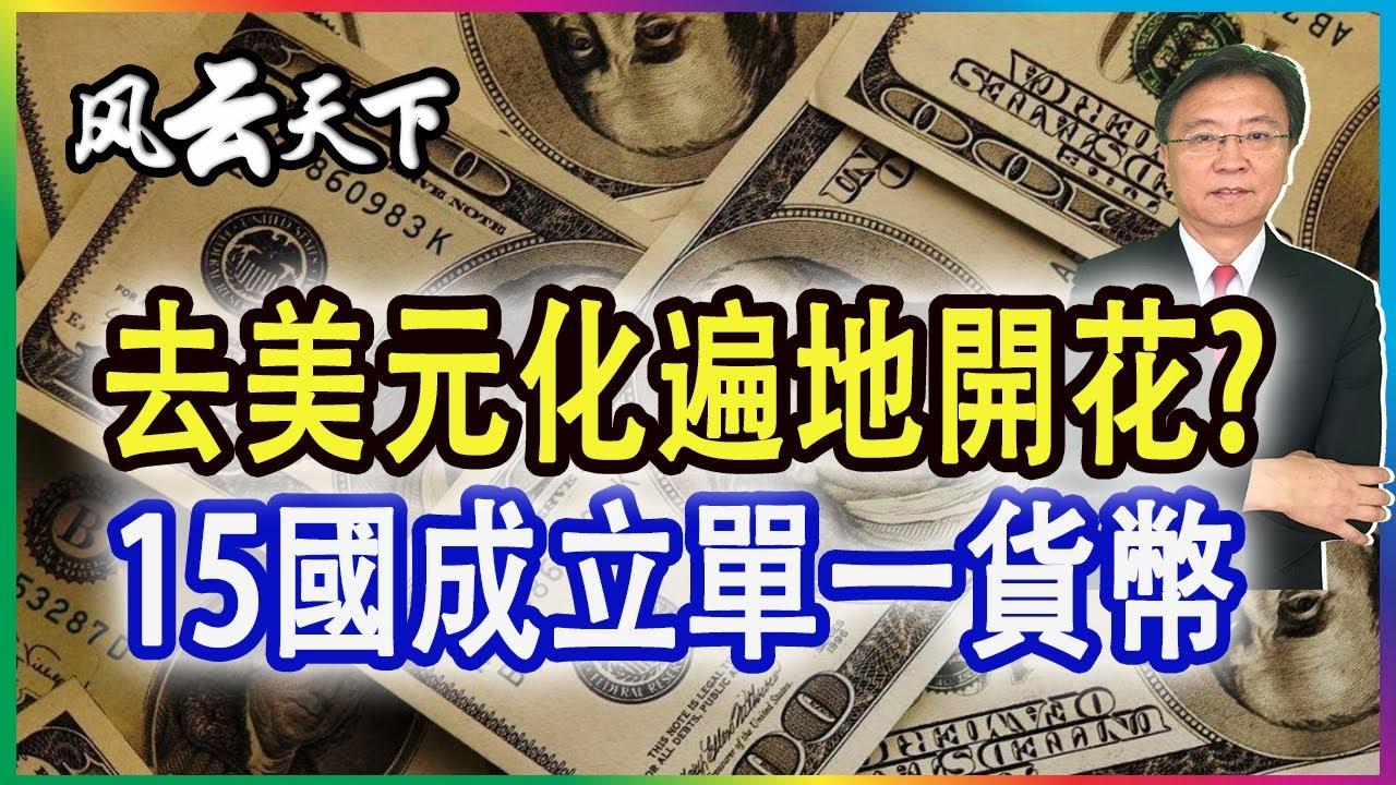 去美元化遍地開花? 15國成立單一貨幣 誰是美元最大競爭者? 2021 0623