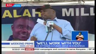 Gideon Moi visits attends funds drive in Kakamega