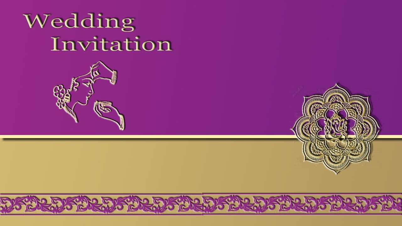 How to Create a Wedding Invitation Card Front page in Photoshop – How to Create a Wedding Invitation Card