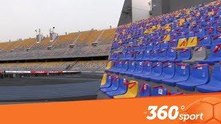 Le360.ma •  شاهد مدرجات ملعب طنجة استعدادا لودية المغرب بحضور الصحافة الارجنتينية
