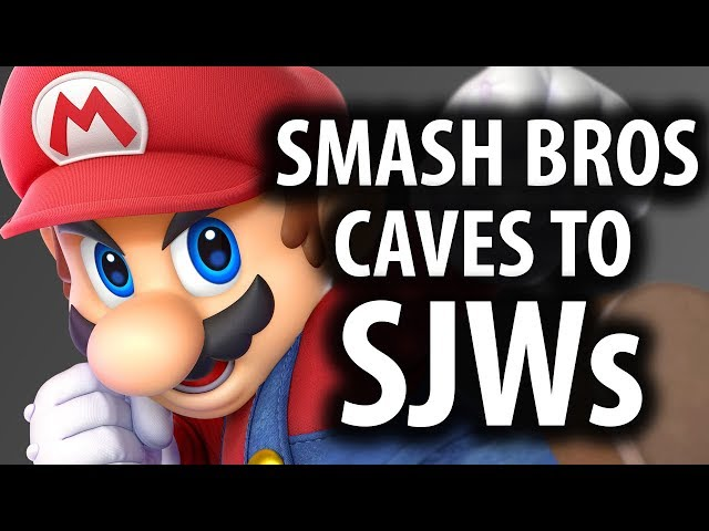 Super Smash Bros Ultimate Caves In To SJWs