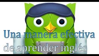 Como aprender ingles: Rápido y Fácil  en Duolingo