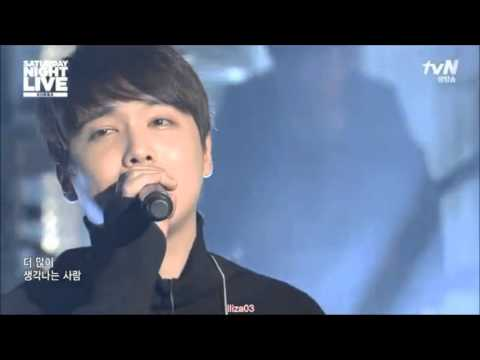 Lee Hongki - Lovesick 사랑앓이 Live on SNL - 5 Dec 2015