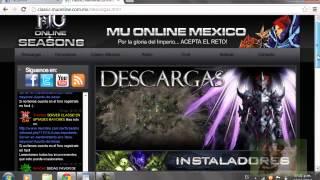 Como Descargar Mu Online Mexico Clasico
