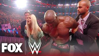 Bobby Lashley, Lana get arrested after Rusev's sneak attack | MONDAY NIGHT RAW