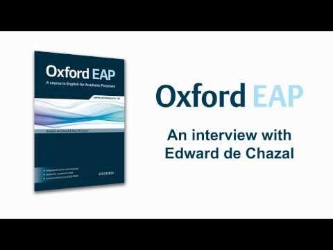 Oxford EAP - Interview with Edward de Chazal