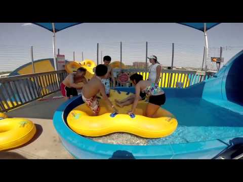 GoPro Hurricane Harbor Thrill Ride - Tornado