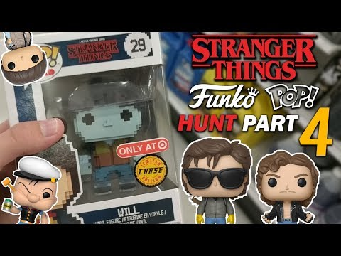 Stranger Things Funko Pop Hunt Part 4 8 Bit Will Chase!
