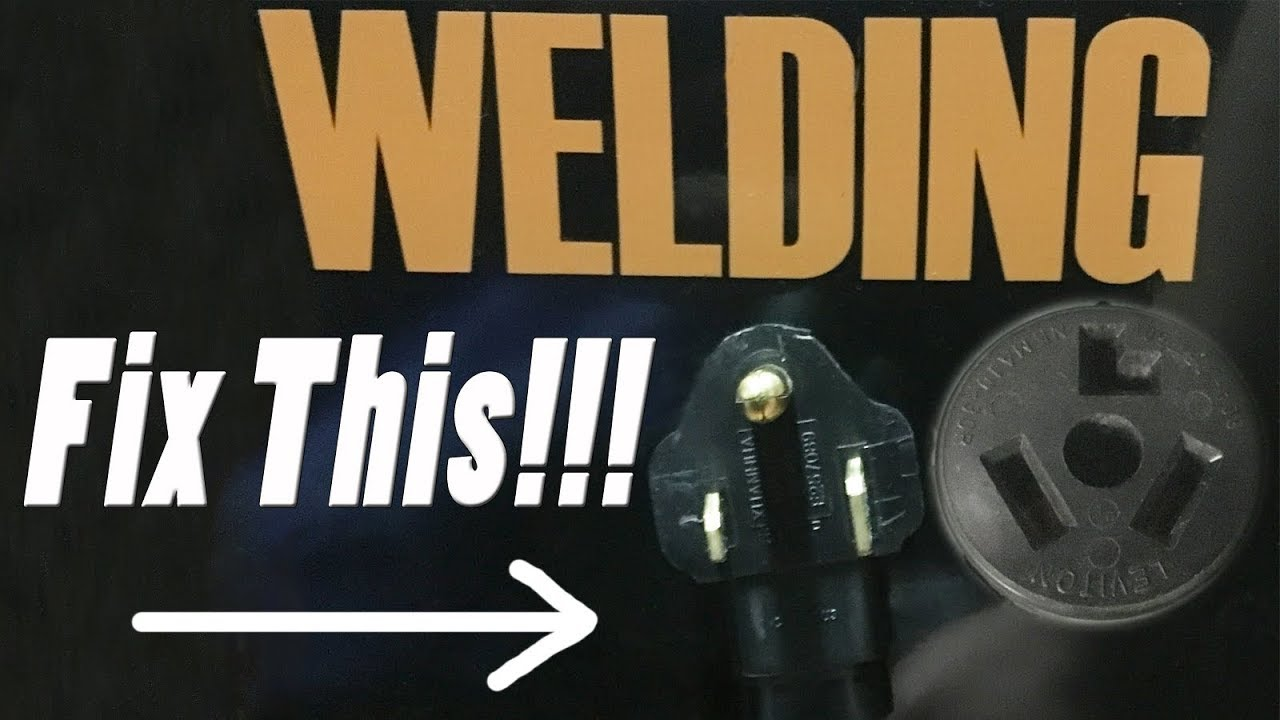 diy welder plug to dryer outlet adapter how i can plug my welder wiring a 240v welder to dryer plug [ 1280 x 720 Pixel ]