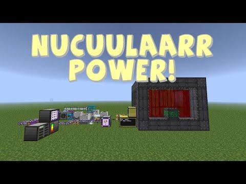 Technic Tekkit 1.2.9f - Infinite / Renewable Power Part 3 - Nuclear Power