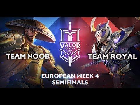 Team Noob vs. RoyaL | Valor Series [Europe] Week 4 [Semifinal]