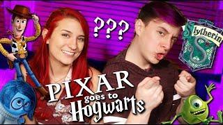 PIXAR CHARACTERS GO TO HOGWARTS - ft. Thomas Sanders