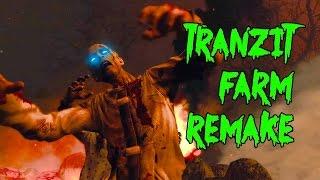 AMAZING Black Ops 2 TRANZIT FARM Zombies REMAKE!▐ CoD World at War Custom Zombies Map/Mod