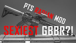 Sexiest GBBR M4 ? (PTS Radian MOD - 1) - Airsoft GI