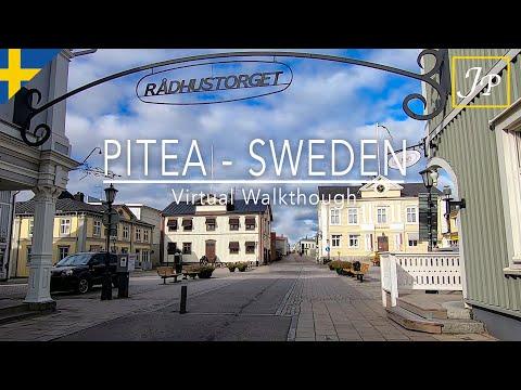 Piteå Sweden - A Virtual Walk - Historic Photos