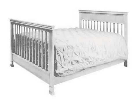 Check Million Dollar Baby Foothill 4 in 1 Convertible Crib with Toddler Rail Slide