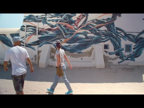 Djerbahood: street art in Erriadh, Djerba - True Tunisia / season 1 (épisode 3)