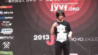 2013 East Japan Yo-Yo Contest B Block 5A Pre Seiya Konno