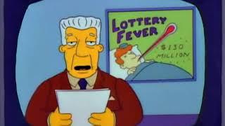 I Simpson ITA - Homer fantastica sulla vincita al Lotto
