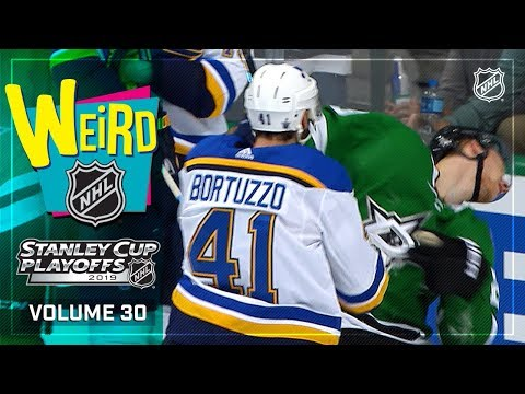 Weird NHL Vol. 30: Blast off into the Second Round!