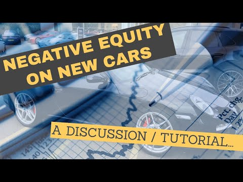 Negative Equity on New Cars - PCP example tutorial