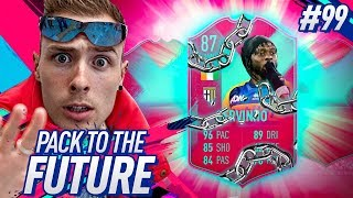 UNLOCKING FUT BIRTHDAY GERVINHO!! PACK TO THE FUTURE EPISODE 99! FIFA 19 Ultimate Team Road to Glory